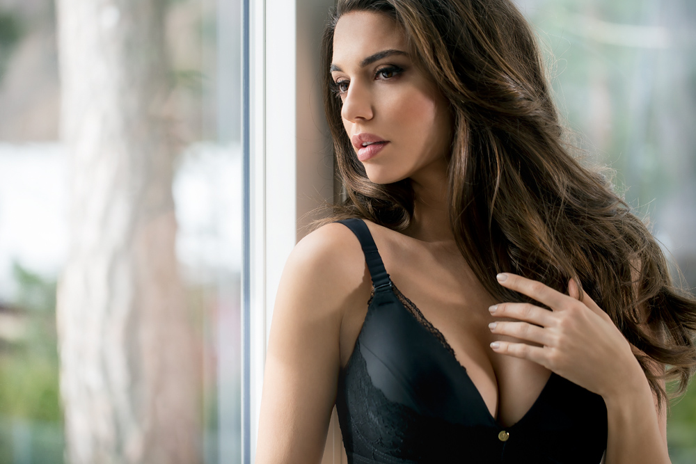 A designed recovery bra - The First Love bra from Ipomia